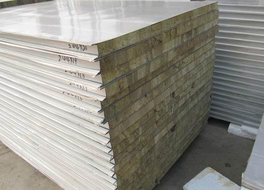 保温隔热岩棉彩钢板