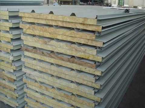 瓦楞岩棉彩钢板